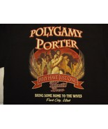Bandits Grill & Bar Wasatch Beers Park City, Utah Polygamy Porter T Shir... - $22.86
