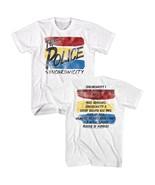 The Police Brittish Rock Synchronicity Song List Men's T Shirt Concert Merch  - $24.26 - $38.07