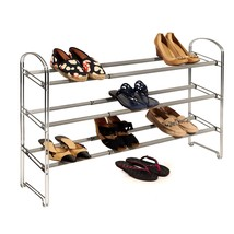 Shoe Storage Rack, Seville 3-tier Expandable Mens Womens Shoes Storage O... - $56.76 CAD