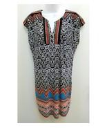 Laundry By Shelli Segal Womens XS Dress Multicolor Geo Shift Sleeveless P17 - $16.99
