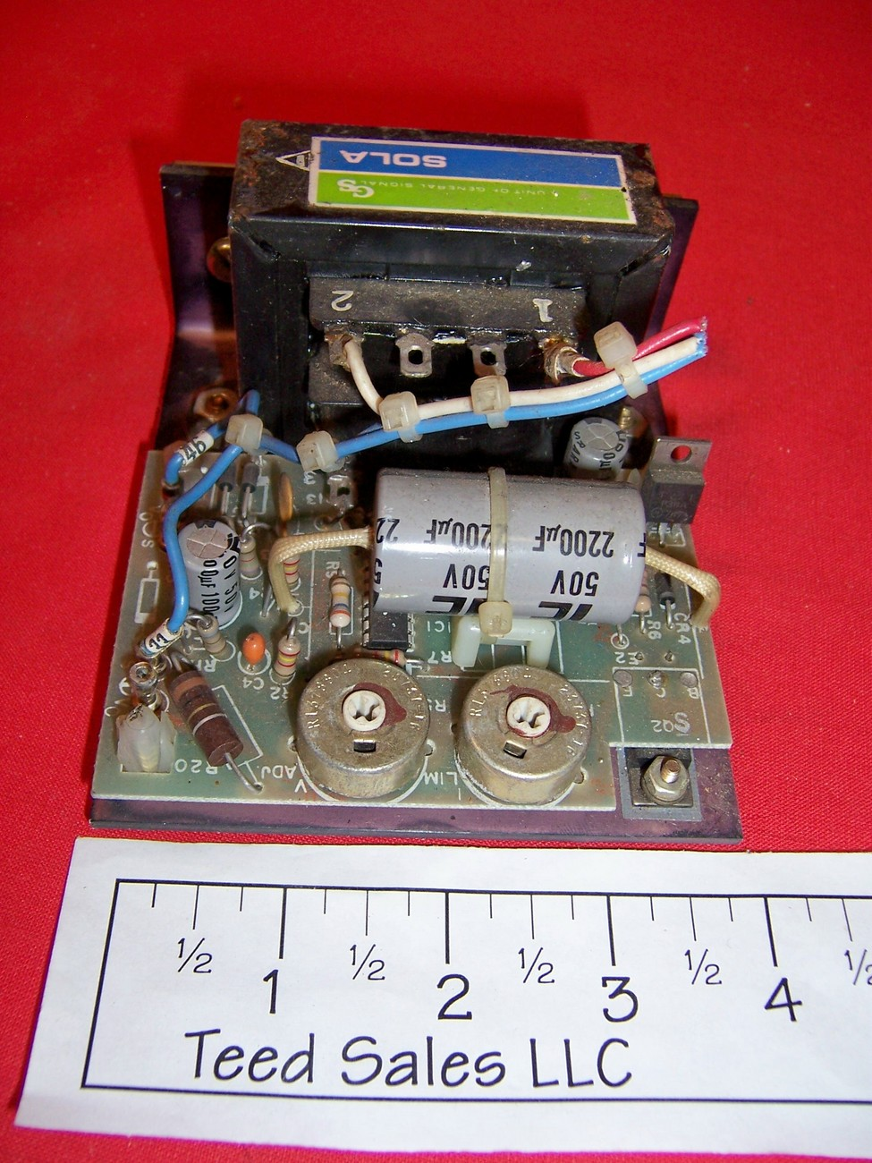 Sola 81-24-180-01 Power Supply used 24 volt .8 amp