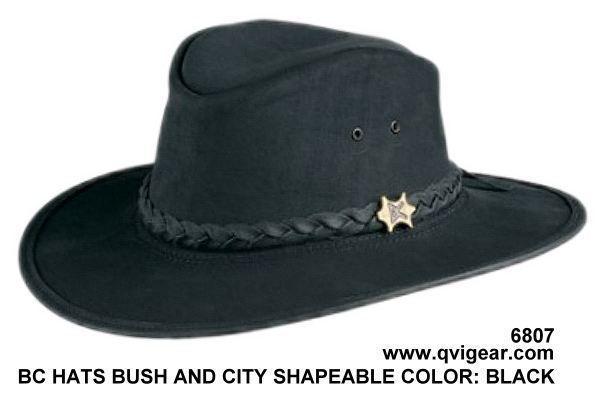 6807 bc hats bush and city shapeable black opt qvigear 2009 jv