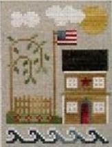 East Coast Sea To Shining Sea Thread Pack cross stitch LHN - Classic Colorwork - $14.40
