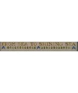Border Chart Sea To Shining Sea Thread Pack cross stitch LHN- Classic Co... - $14.40