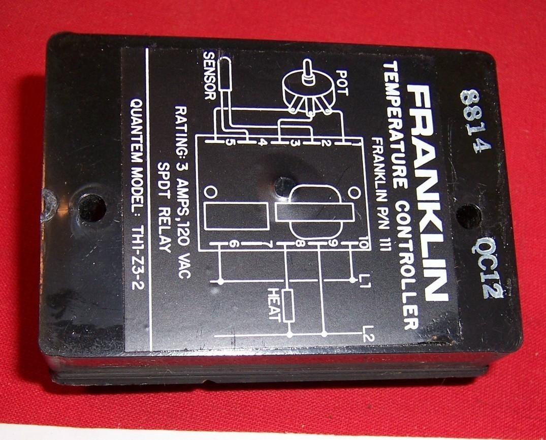 Franklin Temperature Controller Quantum TH1 Z3 1