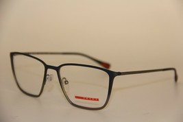 NEW PRADA SPORT VPS 51H U6T-1O1 BLUE EYEGLASSES AUTHENTIC VPS51H 54-17 W... - $96.64