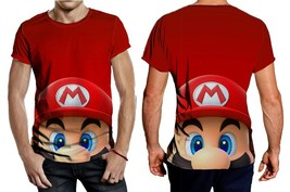 Mario Bros Head Tee Men - $23.99