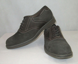 Bass Shoes Size 9 Oxfords Mens Brown Leather/Suede Memory Foam - $26.72
