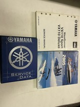 2005 2006 2007 Yamaha WaveRunner VX1100 Repair Workshop Service Shop Manual Set - $79.15