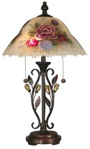 Table Lamp DALE TIFFANY 2-Light Antique Golden Sand - $249.99