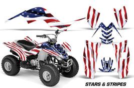 AMR Racing Yamaha Raptor 80 Graphic Kit Wrap ATV Quad Decals 2002-2008 U... - $129.95