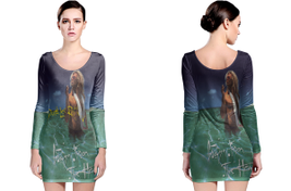 David Lee Roth LONG SLEEVE BODYCON DRESS - $25.99+