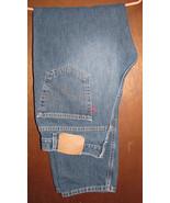 Men's Levis 505 Regular Fit Blue Jeans Size 36x32 (35x33) - $15.99