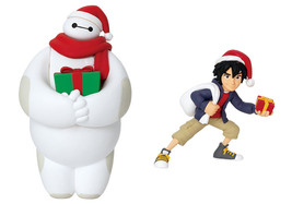 Japan Exclusive Baymax and Hiro Ornament, Disney Christmas Ornament Pull... - $24.99