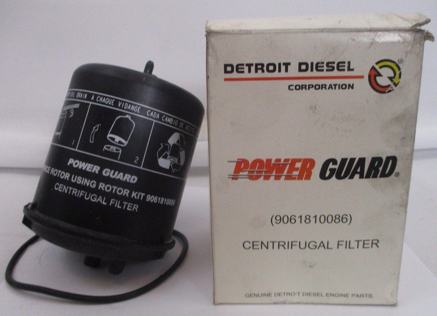 Primary image for ONE NEW DETROIT DIESEL POWER GUARD 9061810086 CENTRIFUGAL FILTER