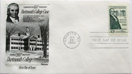 Sept. 22, 1969 First Day of Issue, Fleetwood Cover, Dartmouth College Ca... - $1.98