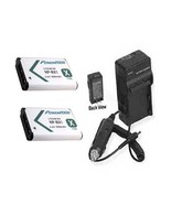 2X Batteries + Charger for Sony HDR-AS30VR HDR-AS30V HDRAS30VW HDRAS30KEDGE - $28.71