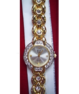 ELIZABETH TAYLOR WHITE DIAMONDS WATCH - $20.00