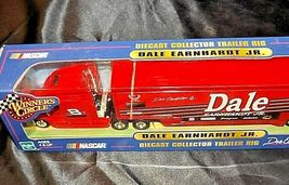 Red Dale Earnhardt Jr. Die-Cast Collector Trailer Rig  Hasbro AA19-NC8001 image 5
