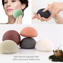 Konnyaku Face Cleaning Sponge Puff Hot Black Natural Facial Exfoliator K... - $162.80