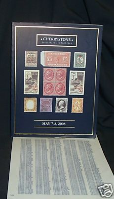 Philatelic Auction Catalog 2008