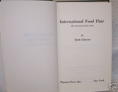 International Food Flair \ Ruth Gilmour