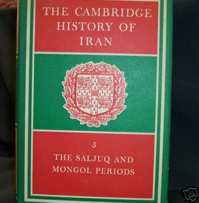 Cambridge History of Iran VOL. #5