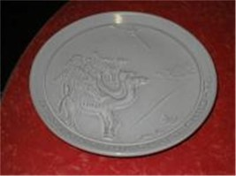 Frankoma Seeking the Christ Child 1972  Plate Excellent Condition Religious - $12.00