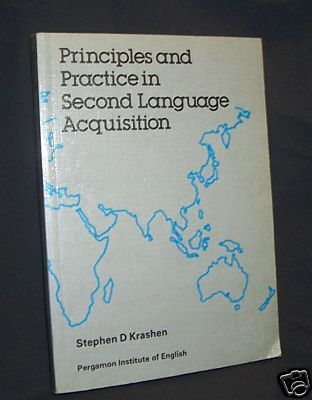 Principles and Practice in Second Language Acquisition