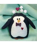 Peter Penguin pincushion kit (pk525)  JABC Just Another Button Company - $34.65