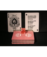 """Deck of """"Bee Playing Cards & Dice"""" From: """"Red Lion Inn & Casino""""  (sku#2... - $16.99"""