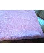 """66"""" W x 1 3/8 Yards of Pastel Purple Textured Fabric with Metallic Threads - $9.49"""