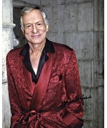 8 x 10 Autographed Photo of Hugh Hefner RP - $1.99
