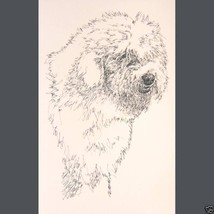 Old English Sheepdog Art Print #58 Kline adds d... - $60.00