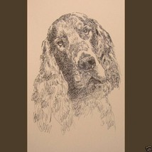 GORDON SETTER DOG ART PRINT #45 Kline Magic Dra... - $60.00