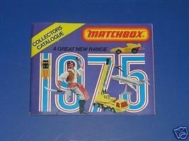 MATCHBOX 1975 CATALOG MINT! - $5.00