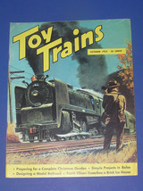 TOY TRAINS OCTOBER 1952 VOL. 1, NO. 12 - $11.99