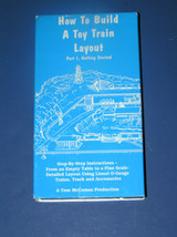 HOW TO BUILD A TOY TRAIN LAYOUT PART 1, GETTING STARTED - $9.99