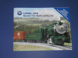 LIONEL 2013 READY TO RUN CATALOG - $3.99