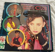 Culture Club Farbe Von Zahlen Record Vinyl Album Vtg 1983 Boy George - $12.86