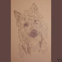 Australian Terrier Dog Art Print #32 Stephen Kline will add dogs name fr... - $60.00