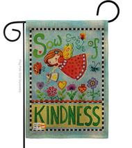 Sow Seeds of Kindness Burlap - Impressions Decorative Garden Flag G154088-DB - $22.97