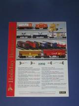 K LINE 1992 HOLIDAY BONANZA  BROCHURE - $4.25