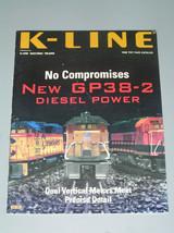 1998 K LINE TOY FAIR CATALOG - $5.50