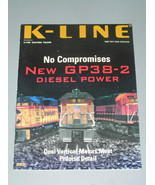 1998 K LINE TOY FAIR CATALOG - $5.50