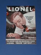 "LIONEL TRAIN LAYOUT PLANNING BOOK FOR ""POP"" - $19.99"
