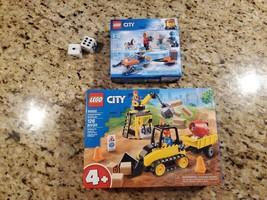 Lego City Vombo (60252 + 60191) Construction Bulldozer  And Artic Explor... - $48.51