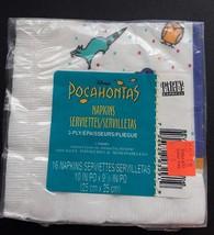 Disney Pocahantas Princess Napkins Beverage Birthday Party Hallmark 16 Pack - $4.83