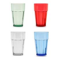 Diamond Tumbler Polycarbonate Stackable Beverage Cups Qty 1 - 2 - 4 - 6 ... - $9.99