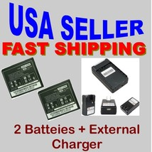 LG Optimus 2x G2x P999 P990 2X Battery + External Battery Charger Home T... - $21.29